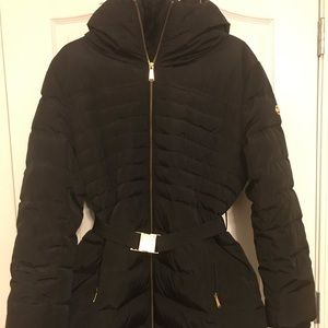 Michael Kors hip length down jacket -Black- XL